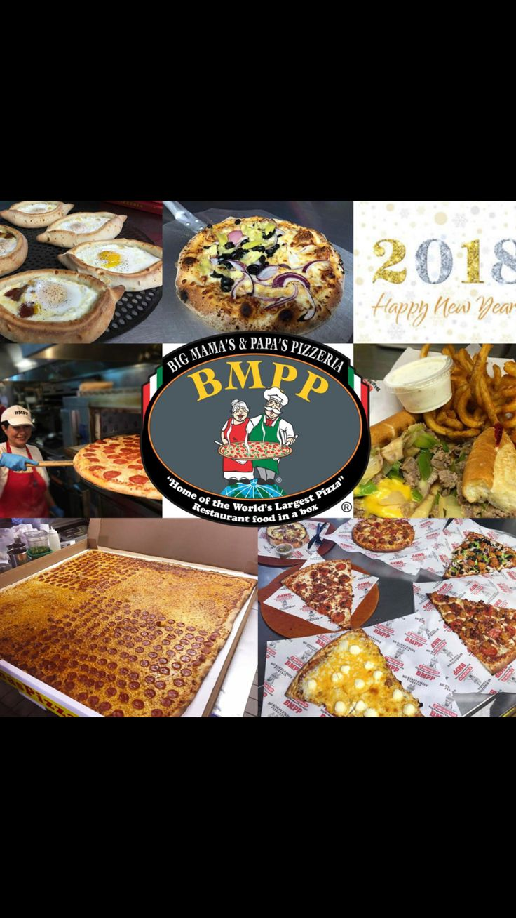 Grateful for 2017 and excited about 2018! Happy New Year! #BMPP  https://www.youtube.com/user/54pizza  https://ordernow.bigmamaspizza.com/