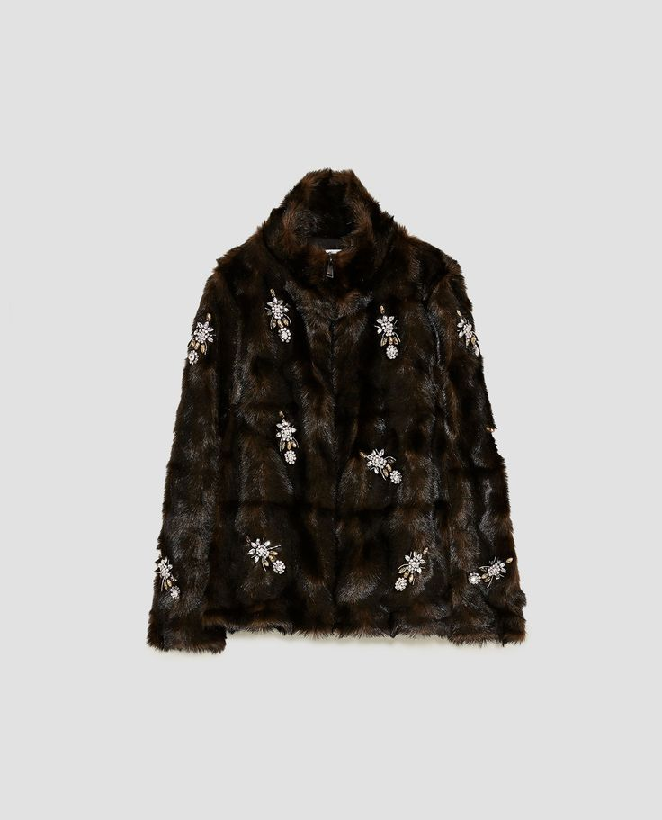 It scares me a little bit how much I want to wear this embellished, faux fur, fast fashion masterpiece.