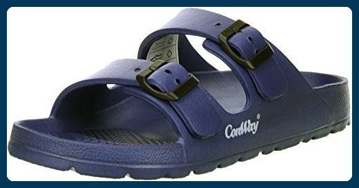 ConWay MISTRAL Damen Badeschuhe Latschen Sandalen Pantoletten blau, Größe:40;Farbe:Blau - Clogs für frauen (*Partner-Link)