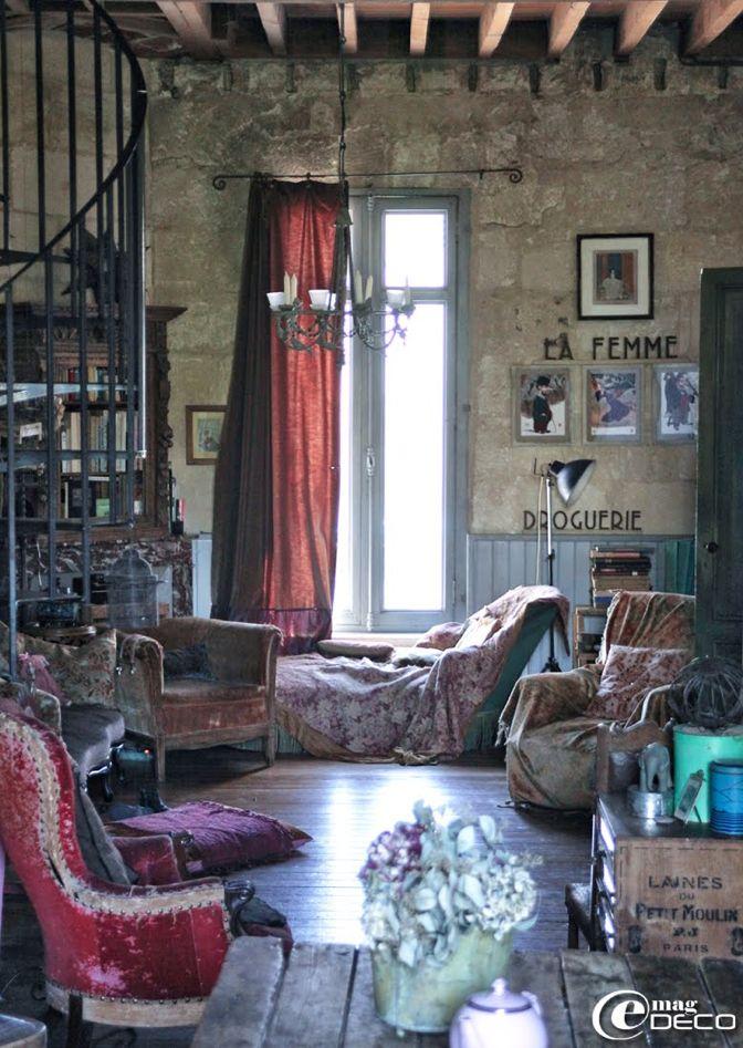 Création Miss Clara. Le Divan Fumoir Bohémien. http://www.flickr.com/photos/gabyblam/
