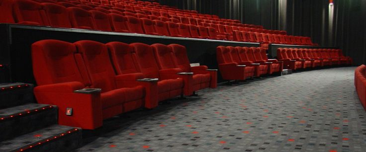 Hoyts Cinema, Auckland: Custom designed Axminster carpet by Irvine Flooring