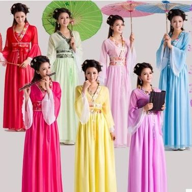 Cheap costume fancy dress, Buy Quality costume manufacturer directly from China dresses chiffon Suppliers: Chinese Traditional Women Hanfu Dress Chinese Fairy Dress Red White Hanfu Clothing Tang Dynasty Chinese Ancient Costume