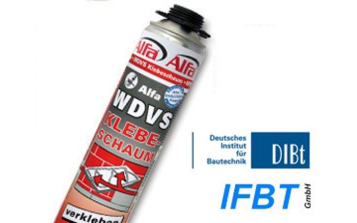 WDVS-Klebeschaum, PU-Kleber für die sichere Verklebung von Hartschaum-Dämmplatten an Häuserfassaden Polystyrol Styropor Styrodur Steinwolle EPS