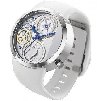 ¡Relojes con encanto! Reloj Automático Blanco Swing Odm http://www.tutunca.es/reloj-automatico-blanco-swing-odm