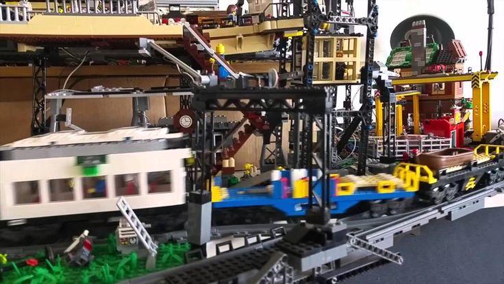 Best lego train tracks ideas on pinterest