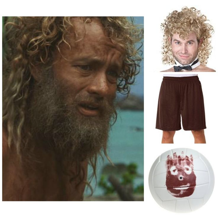 castaway halloween costume for guys with beards