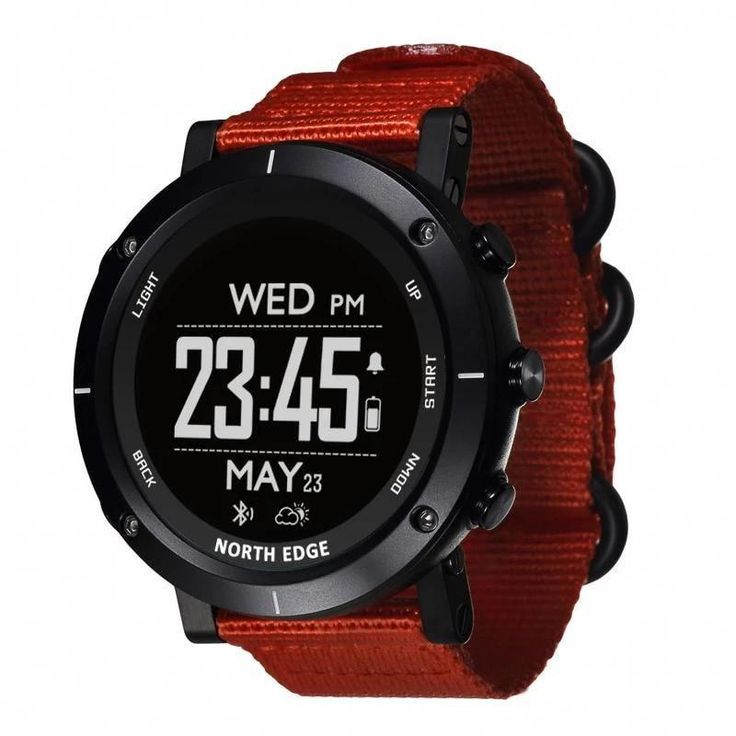 Smart Watch Altimeter Barometer Thermometer Compass