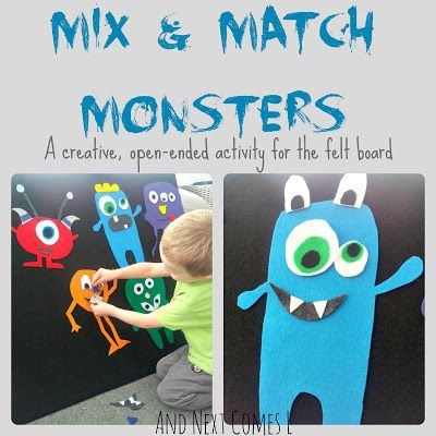 And Next Comes L: Mix and Match Monsters