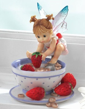 CEREAL & MILK FAIRIE ___From Series Twenty of the My LiTTLe KiTcHeN FAiRiES Collection from Enesco