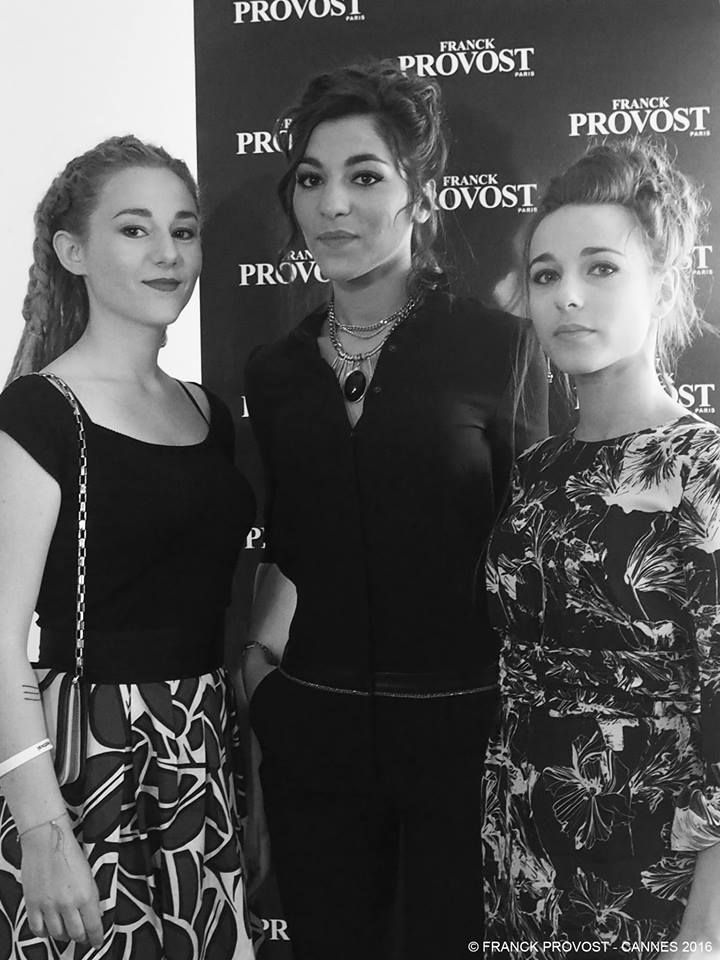 The beautiful girls from L.E.J. were ready for the Red Carpet! #cannes2016 #girls