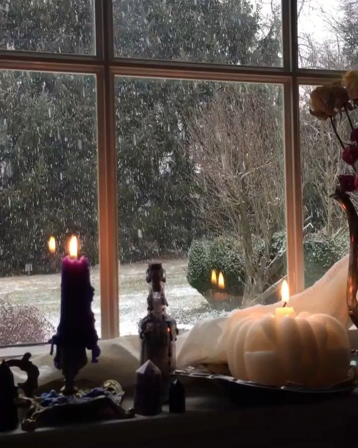Terri Foss On Instagram The Other Morning Have Any Of You Gotten Your First Snow Of The Season F Holiday Decor Christmas Book Of Shadows Cozy Space