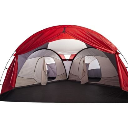 SwissGear 12 Person Three Room Getaway Tent  sc 1 st  Pinterest & 13 best A camping we will go... images on Pinterest | Camp gear ...