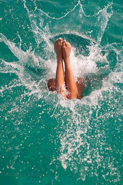 Dive in, head first.