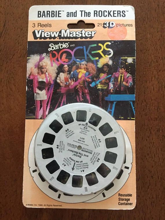 Barbie and the Rockers View-Master Reels 1986 Vintage MOC