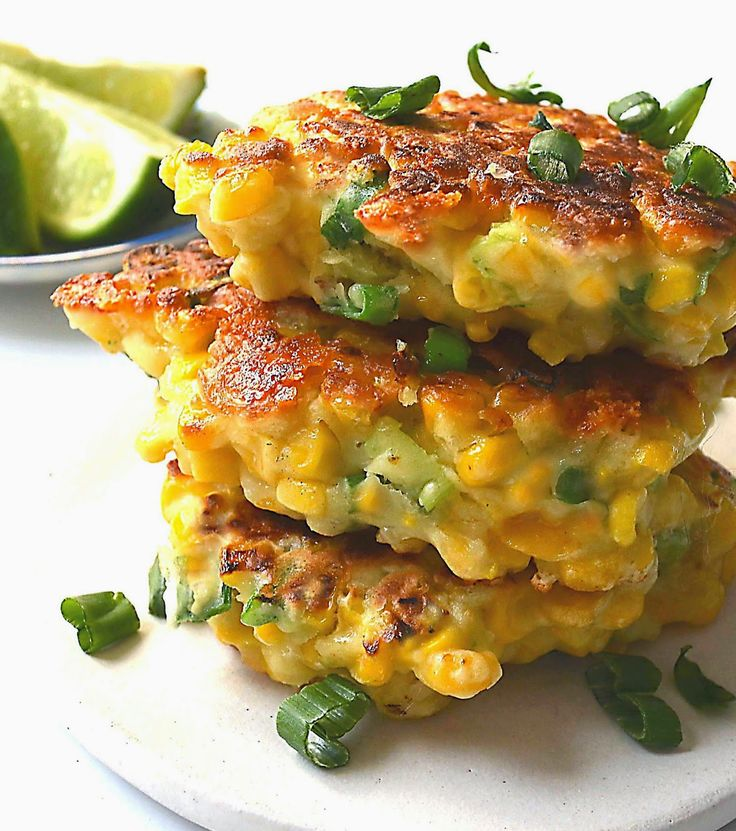 Sew French: Mexican Corn Cakes with Jalapeno & Lime