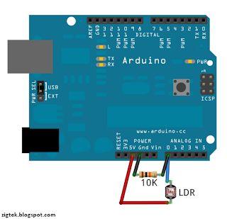 ZigTek: Sensor de Luz com Arduino
