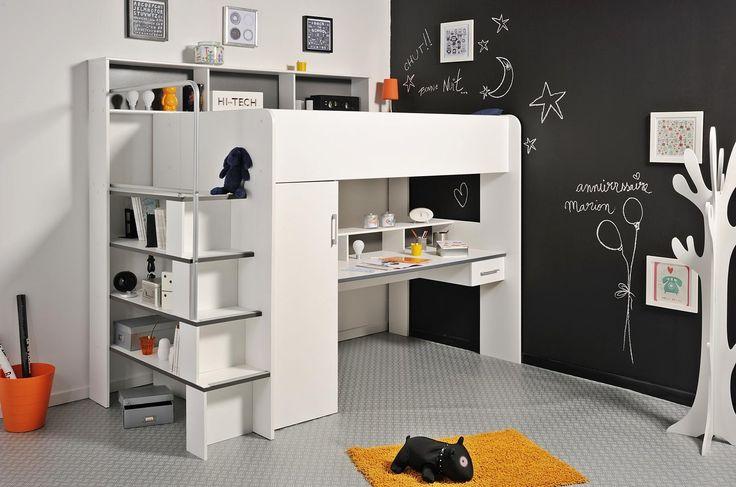 hochbett mit schreibtisch hochbett pinterest hochbett mit schreibtisch hochbetten und. Black Bedroom Furniture Sets. Home Design Ideas