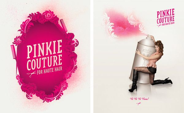 Pinkie Couture for Haute Hair by será será , via Behance