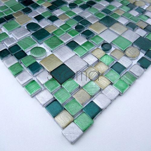 pour acheter votre sygma group carrelage mosaique aluminium ma tren vert pas cher - Mosaique Salle De Bain Pas Cher