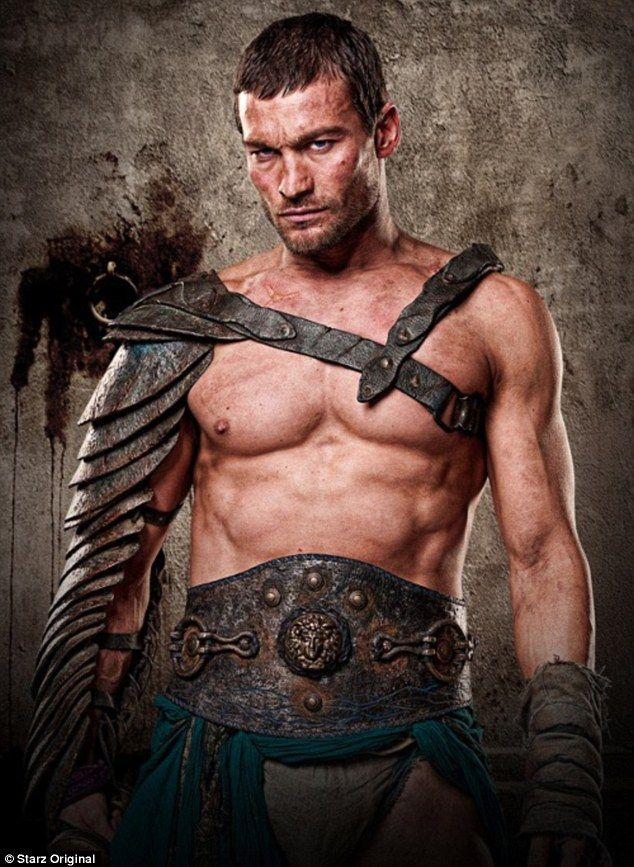 Spartacus Andy Whitfield~ Gone to soon