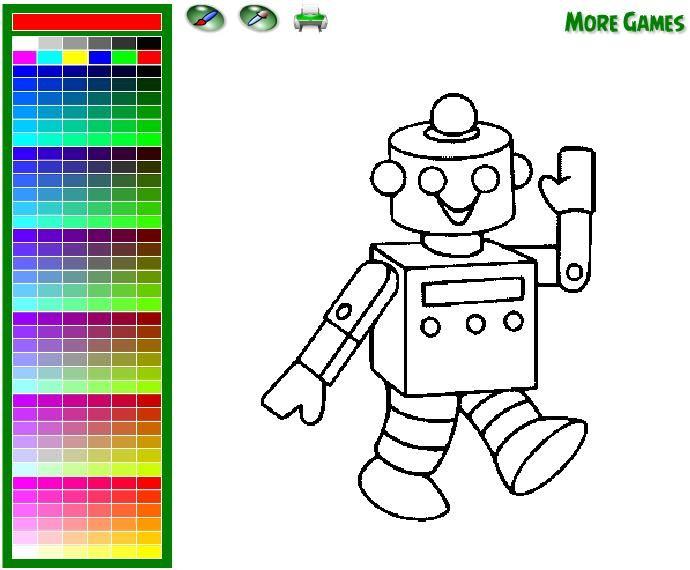 roboter malvorlage  vorlagen malvorlagen ausmalbilder