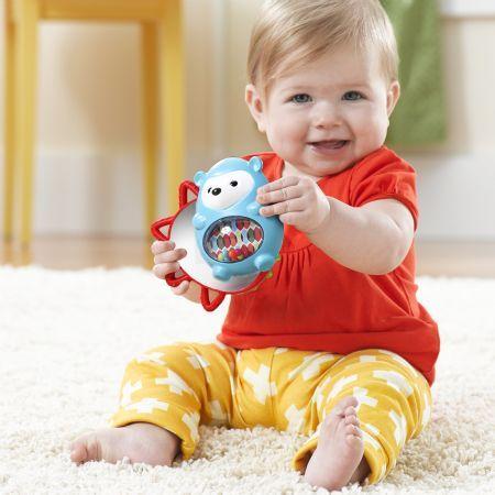 Skip Hop Explore & More Click-Clack – Hedgehog - Toys - Canada's Baby Store