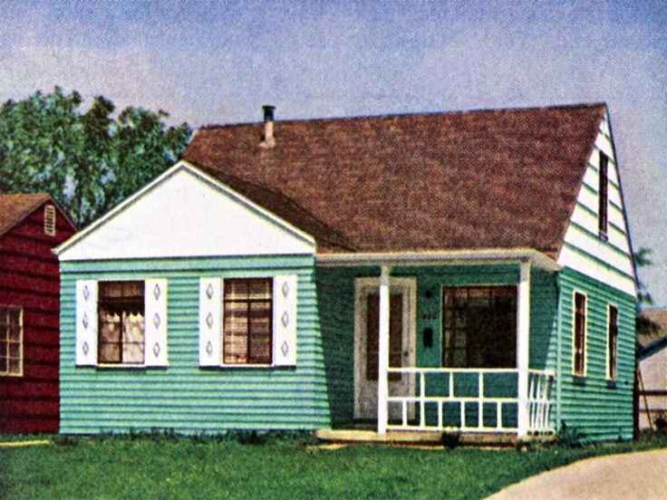 1950s Houses Delectable With Traditional 1950s Homes Picture