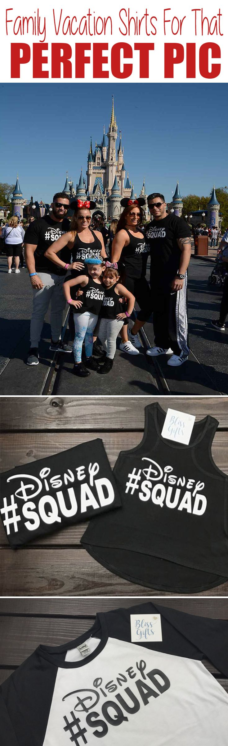 We could get these and wear them when we go to Epcot they evening! The 6 of us could match!!