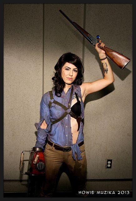 ASH #Crossplay from EVIL DEAD | SDCC 2013 - YES, I've been totally thinking about trying something like this