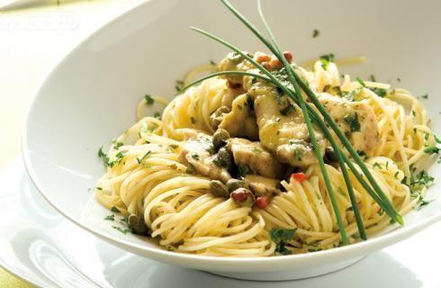 Снимка за Спагети с пиле