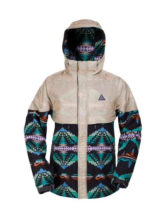 Coolest Nike Jacket EVER! Nike ACG x Pendleton Woolen Mills | All Mountain Jacket • Highsnobiety