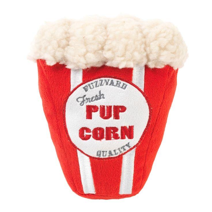 Plush Pupcorn Canine Toy