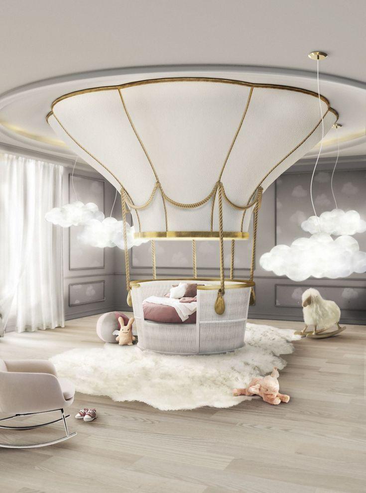Circu fantasy air balloon stanza dei bambini sogni doro idee per