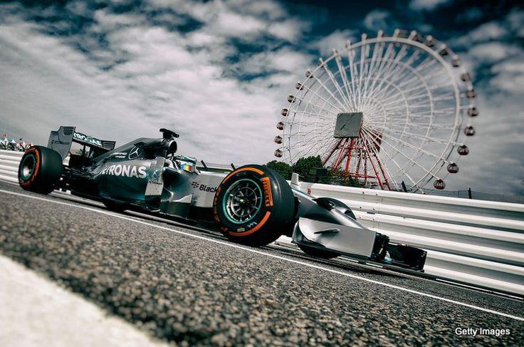 Japanese GP circuit