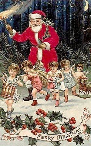 modelos de cartões de natal antigo - Pesquisa Google: