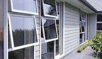 Awning windows are an ideal source for light and ventilation.