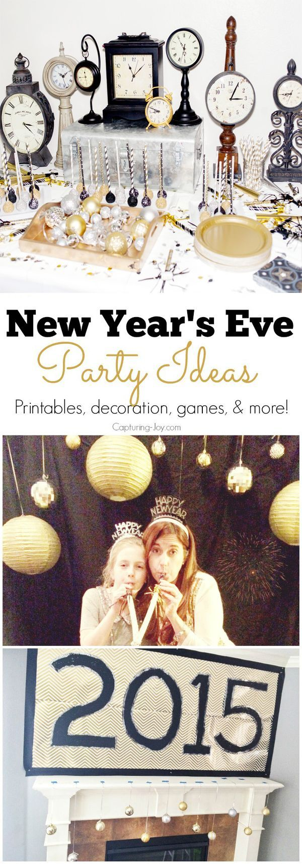 Who is ready for New Year's Eve? Need some last minute party inspiration? Check out these ideas!