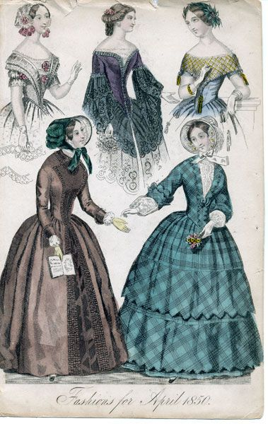 Fashions for April 1850