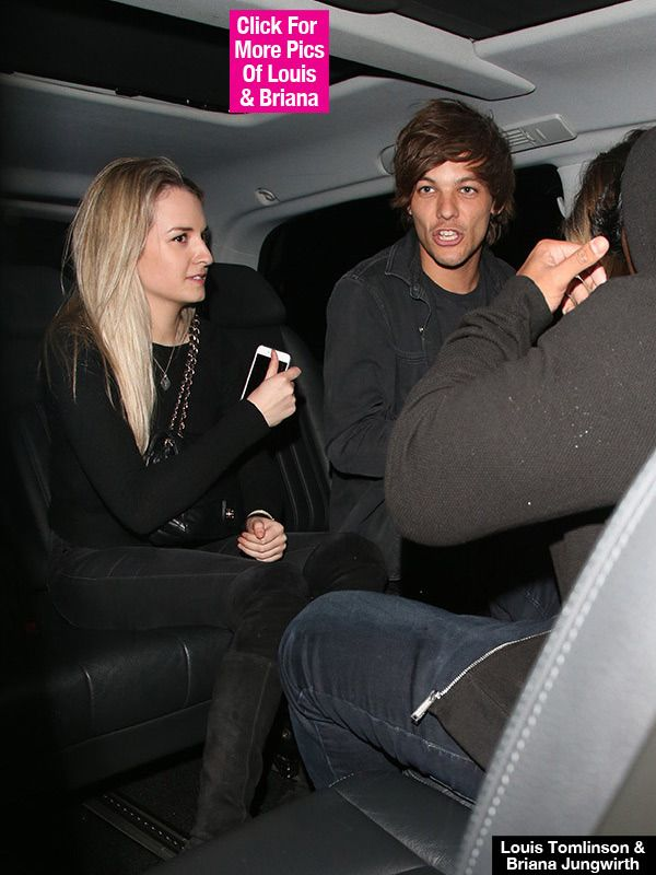 Louis Tomlinson's Baby Mama Briana Jungwirth Shows Off Baby Bump — First Pic