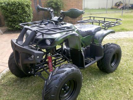 Brand New Manual and Fully Assembled, 250cc Quad Bike, with Diff and Shaft Drive, R Air Bag Shock Absorbers, Tow Bar, Hand tools protection etc.  2015 Model! ** Very Powerful Bike, Ready to Go! **  Manual with 4 +1 gears or, you can select 1+4 gears (1 Forward and 4 Reverse) . Engine: 250cc SHINERAY Engine.  Find us here: www.facebook.com/.... or, www.sydneyatvsand...