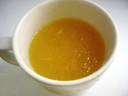 Маска для лица - желатин – 1 ч.л.; — мед – 3 ст.л.; — глицерин – 100 мл; — кислота салициловая (аспирин) – на кончике ножа; — вода минеральная без газа – 100 мл.