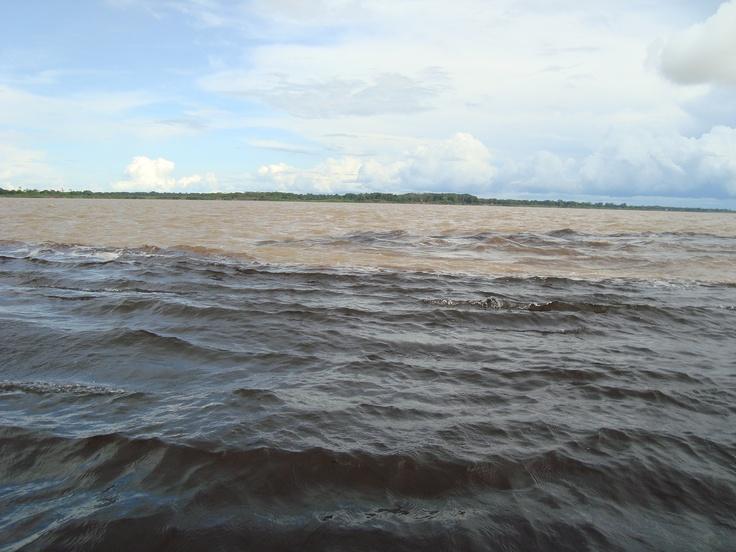 Manaus - Rio Negro x Rio Amazonas