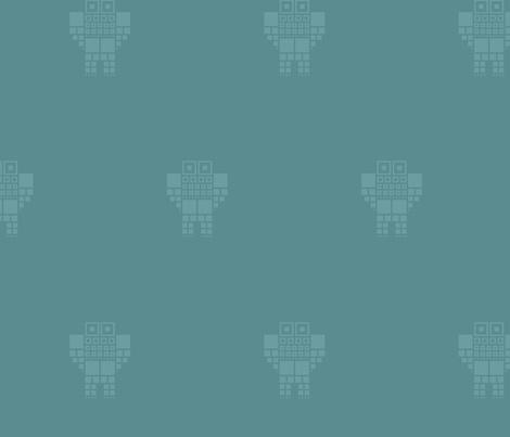 robot_02 fabric by pacamo on Spoonflower - custom fabric