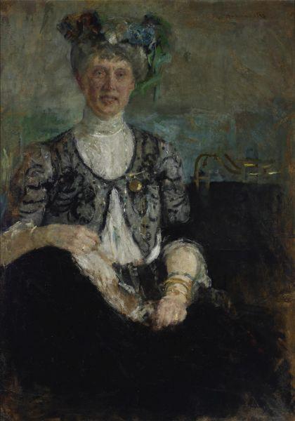 Portret pani Buyko - Olga Boznańska