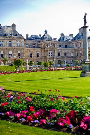 Paris- Luxembourg Gardens: this was where I played my first concert in Europe