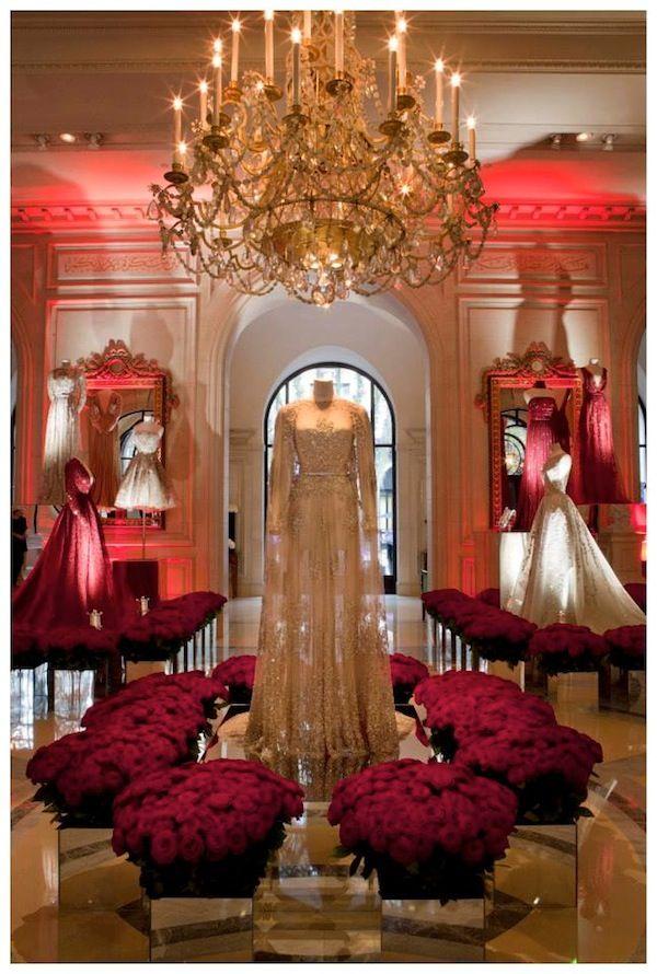 ELIE SAAB Exhibition At The George V in Paris #ELIESAABGEORGEV