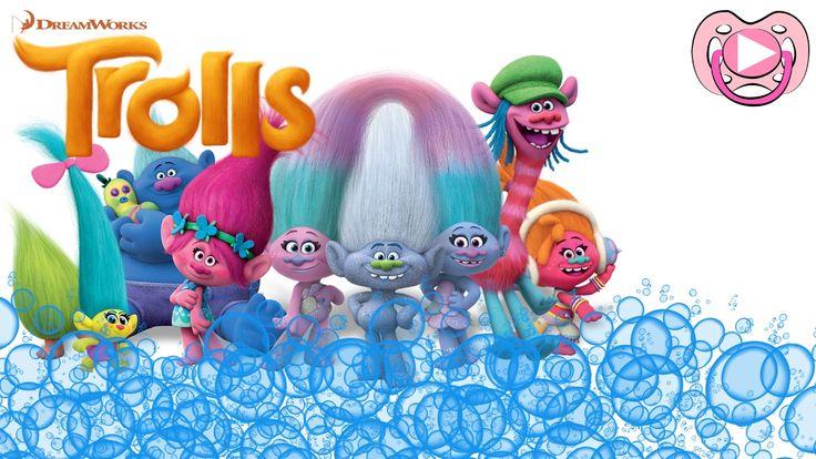 Banho de espuma Trolls