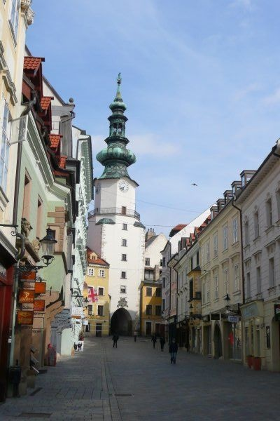 beautiful old Bratislava, Slovakia