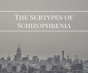 The Subtypes of Schizophrenia