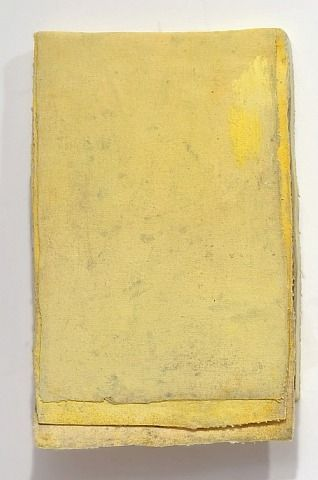 Lawrence Carroll, Ohne Titel (calendar yellow #4) /  Untitled (calendar yellow #4)